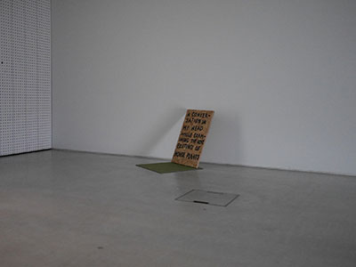 A conversation in my head by Jay Rechsteiner at Turner Contemporary, Margate Now