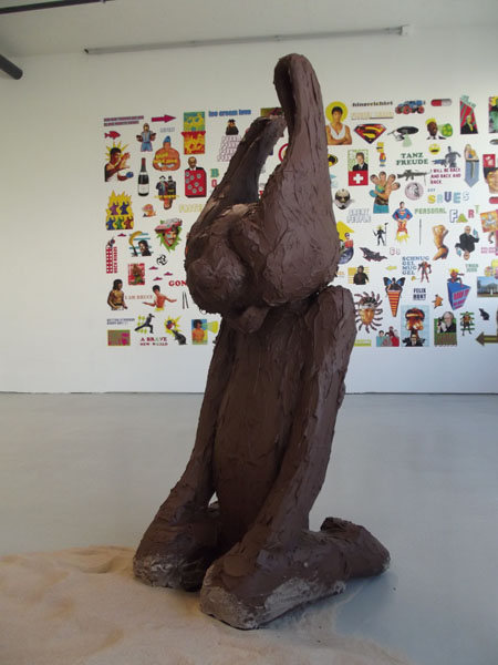 The Easter Bunny that liked to Watch Steven Segal Movies by Jay Rechsteiner, Markthalle Basel, Switzerland